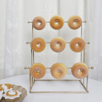 Donut Display Stand Wedding Kids Birthday Home Party Tableware Donuts Decoration Racks Cake Decoration Tools