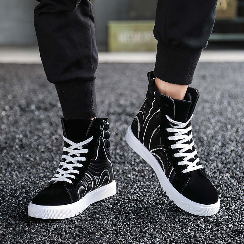 High Top Sneakers Mens Fashion