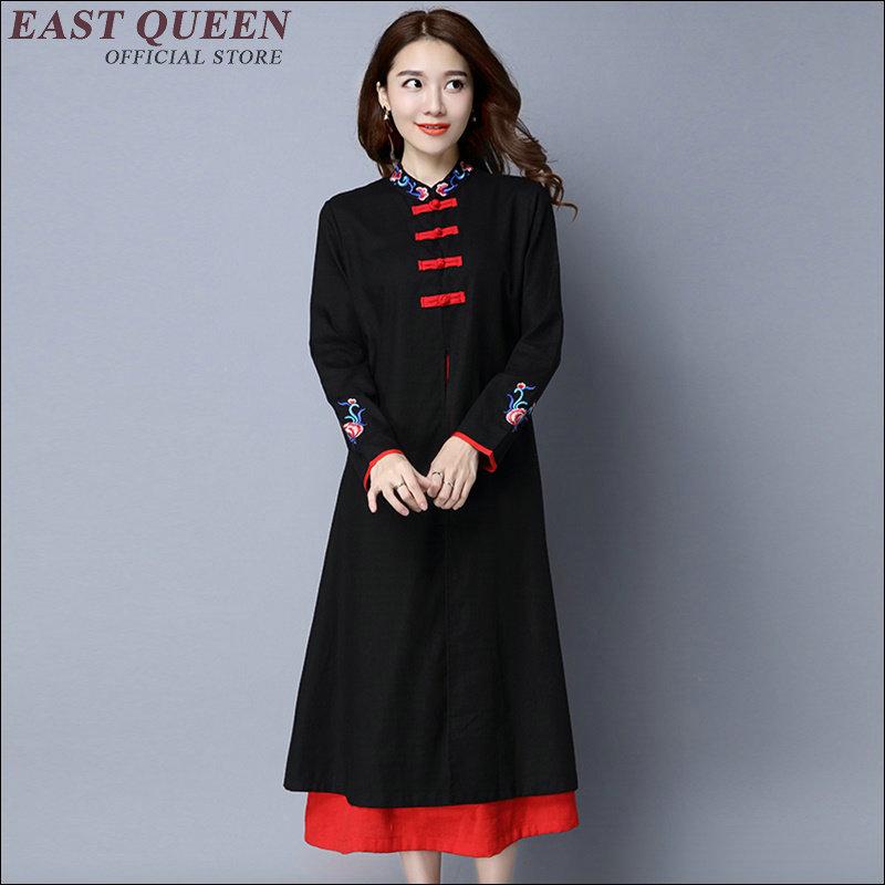 Traditional chinese clothing china clothing 2018 Traditional Chinese Clothing For Women Collar Cheongsam Folk Style KK1231