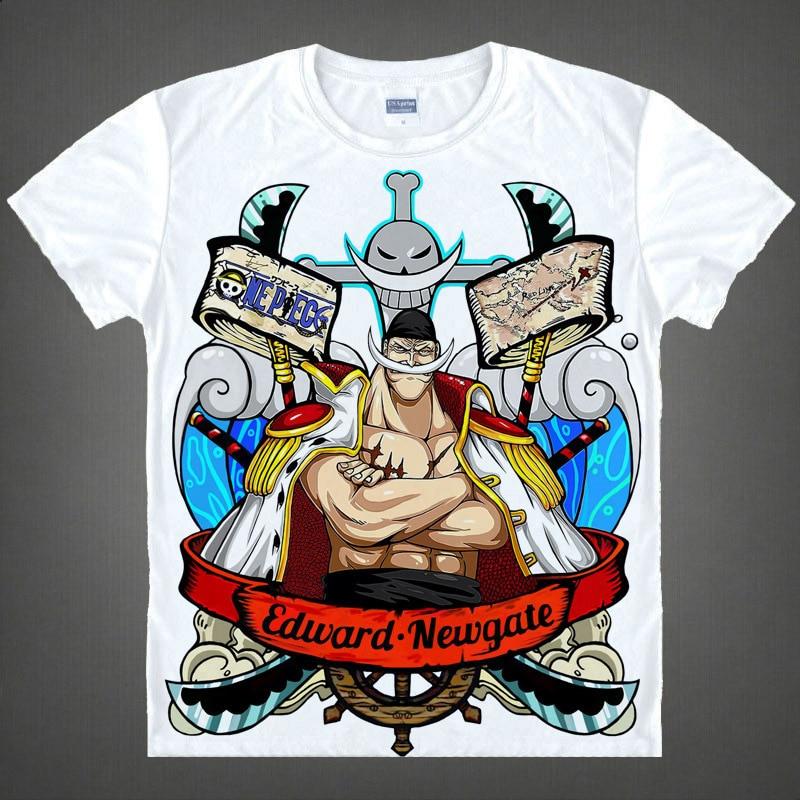 Free Shipping New women Euro Size 3D T font b Shirts b font One Piece Cartoon