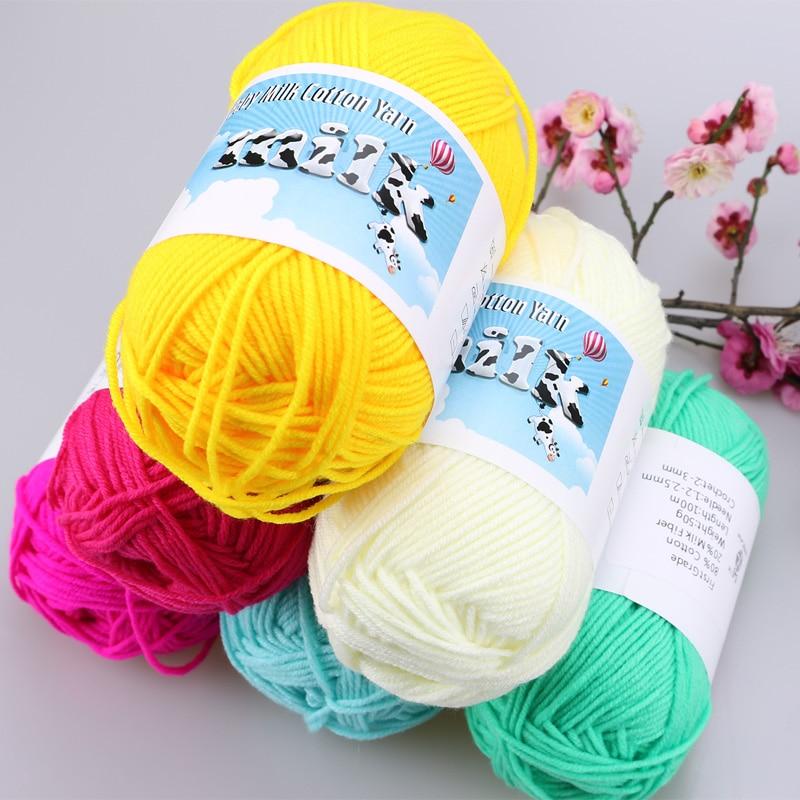 Veleprodaja mliječnog pamučnog kukičara guste pređe za pletenje - Umjetnost, obrt i šivanje - Foto 2
