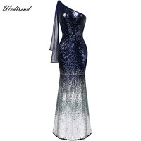 Wedtrend Sequined Sparkling Mermaid Long Women Dresses Sexy Ladys Party Dress Big Sale Cheapest Slim Sheath Elegant Female Dress
