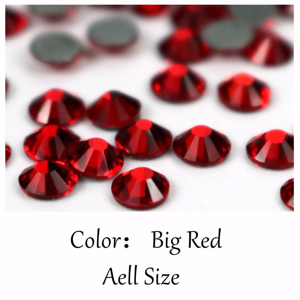 AAAAA grade 99% Crystal Big Red Zircon AB Rhinestones SS16 SS20 HotFix  FlatBack Strass Rhinestone 96a2668e6d00