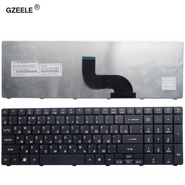 GZEELE teclado ruso para ordenador portátil, para Acer Aspire 5253 5333 5340 5349 5360 5733Z 5733 5750G 5750Z 5750ZG 5750 5250G RU nuevo