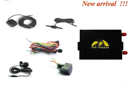 ФОТО 2016 New gps tracker veichle support speed limit function gps tracker for cars tk105