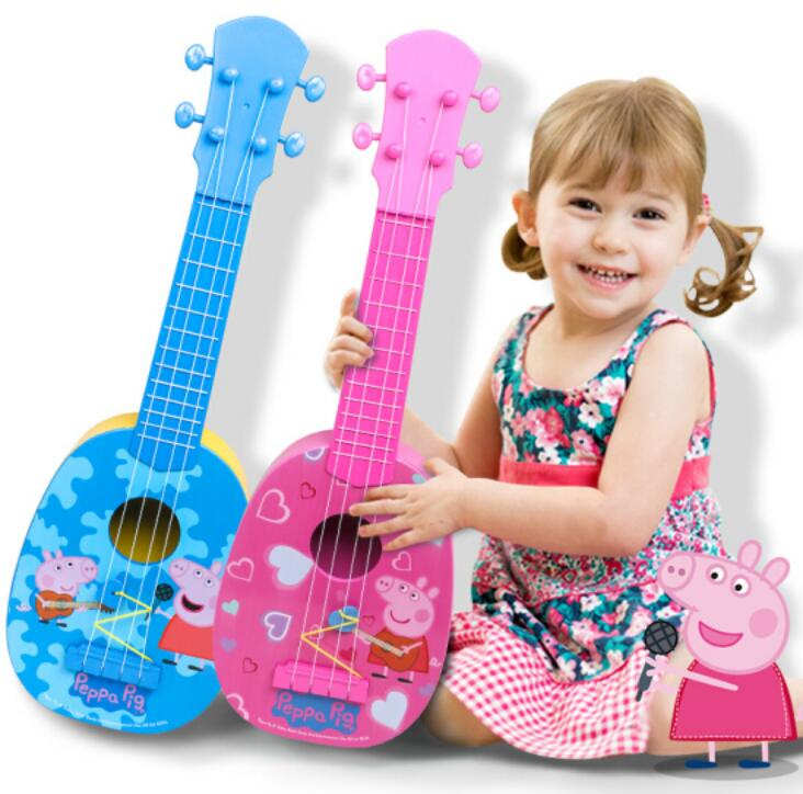 Joyyifor Girl Series 124pcs Cherrys Pink Room Music Guitar Legoinglys Building Blocks Toys Best Gift To Children Excellent In Quality