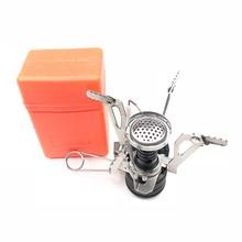 Мини Кемпинг печи складной Открытый газовая плита портативная печь для приготовления пищи Пикник Сплит печи плита горелки