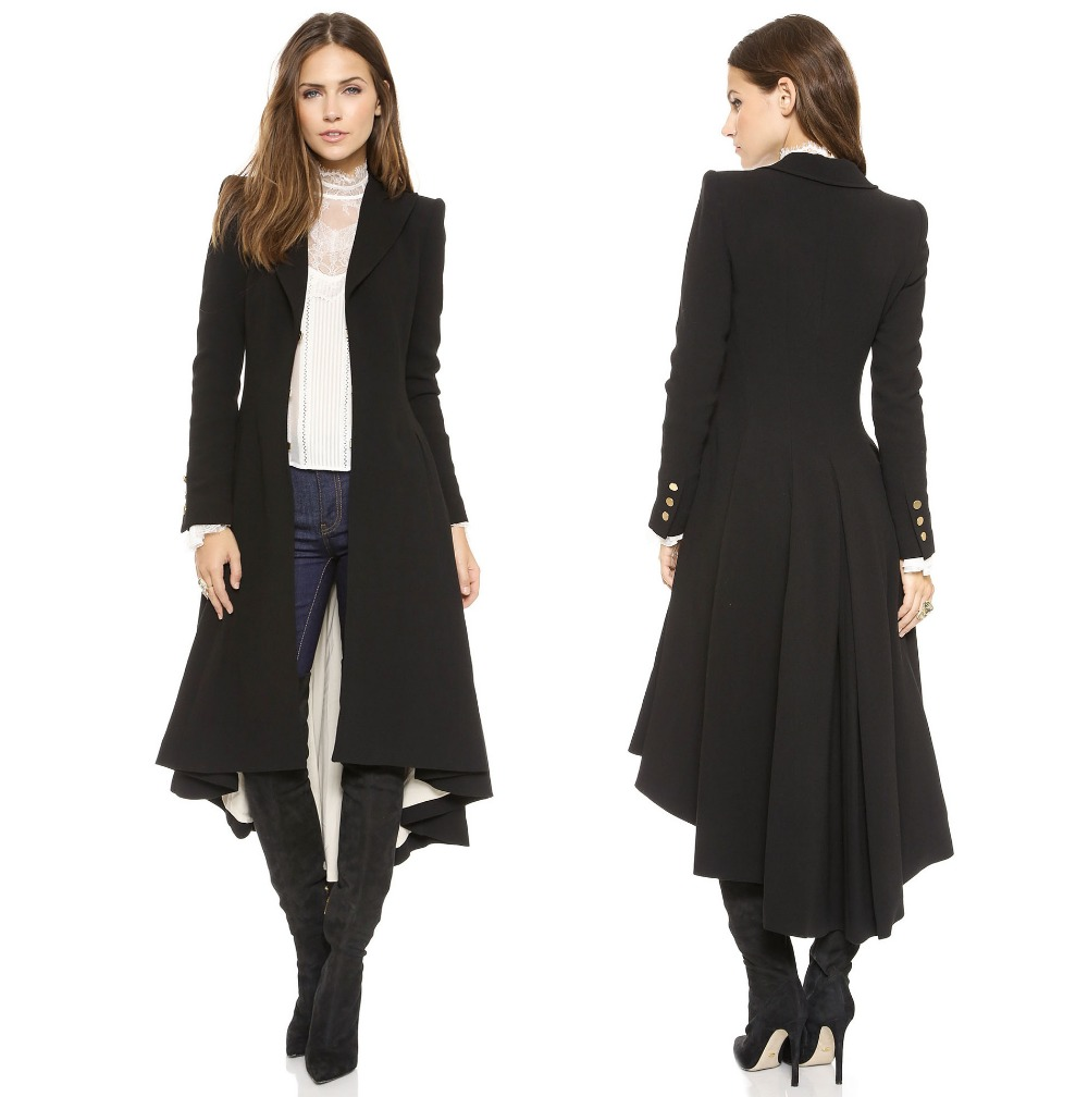 Compare Prices on Black Maxi Coats- Online Shopping/Buy Low Price ...