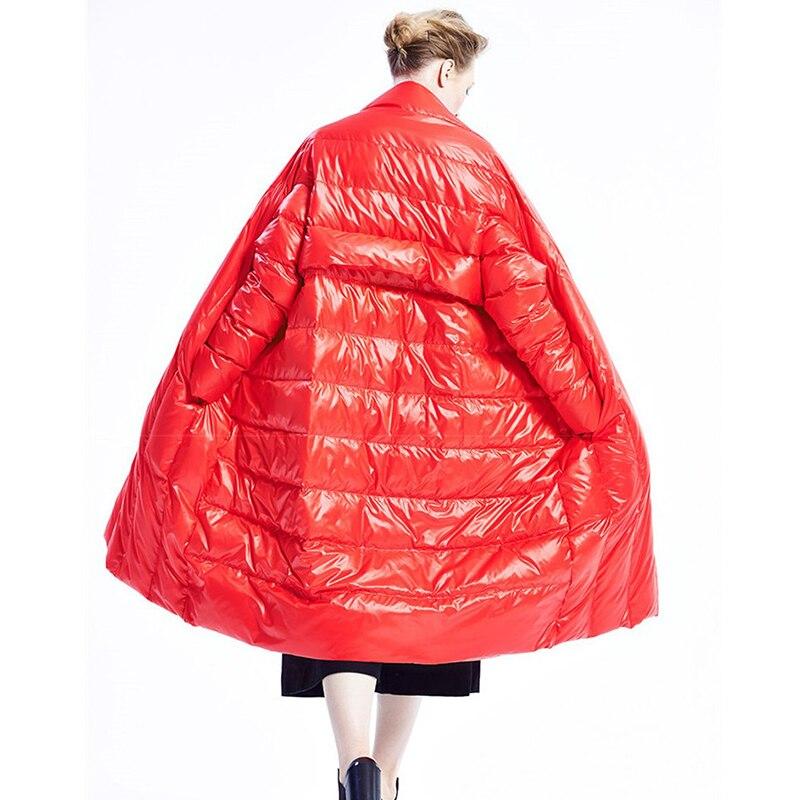 De Nouvelle red Femmes Collier Épais Vestes Bouton Mode Printemps Poche Personnalité Shengpalae Ta031 Black Couvert Stand Manteau 2019 Lâche fC1qC84