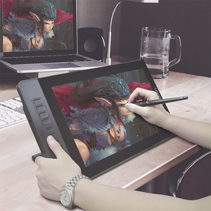 Image 5 - GAOMON PD1560 15,6 pulgadas 10 llaves arte gráficos profesionales Tablet con pantalla pluma dibujo Tablet Monitor para ganar y Mac con regalos