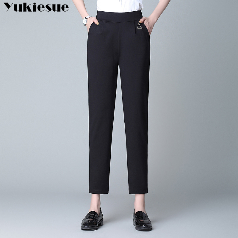 streetwear women's   pants     capris   high waisted harem   pants   female trousers for women loose pantalones mujer femme plus large size