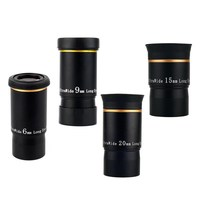 CSO 6mm 9mm 15mm 20mm Telescope Eyepiece Fully Multi Coated 66 Degree Ultra Wide Long Eye Relief 1.25 Filter Thread Monocular