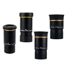 CSO 6mm 9mm 15mm 20mm Telescope Eyepiece Fully Multi-Coated 66 Degree Ultra Wide Long Eye Relief 1.25