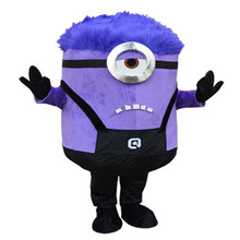 NEW ARRIVE Minions Mascot Costume Adult Character Cosplay mascot costume for Halloween party  event