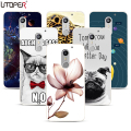 Case For UMI SUPER Case 5.5 Flower Marble Elsa UV Printed Cover Coque For UMI SUPER / Umi Max Case Hard Plastic Back Cover Funda