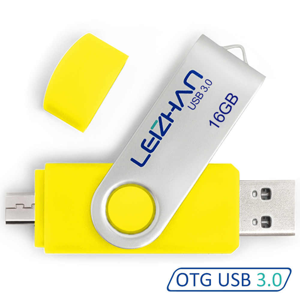 Leizhan Android Usb Flash Drive 3.0 128 Gb Pendrive Photostick Voor Samsung Galaxy S7/S6/S5/S4/S3 64 Gb 32 Gb 16 Gb 8 Gb Memory Stick