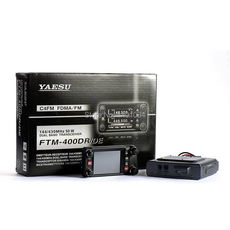 YAESU FTM 400DR VHF UHF Dual Band Mobile Radio-in Walkie