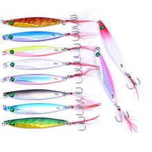 Artificial Metal Fishing Lure 10 pcs Set