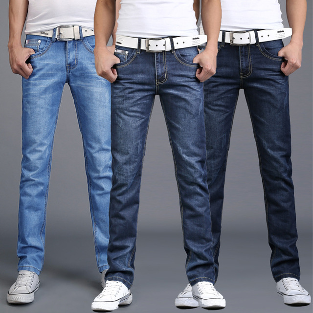 Aliexpress.com : Buy 2017 Spring Autumn Winter Brand Jeans Men ...