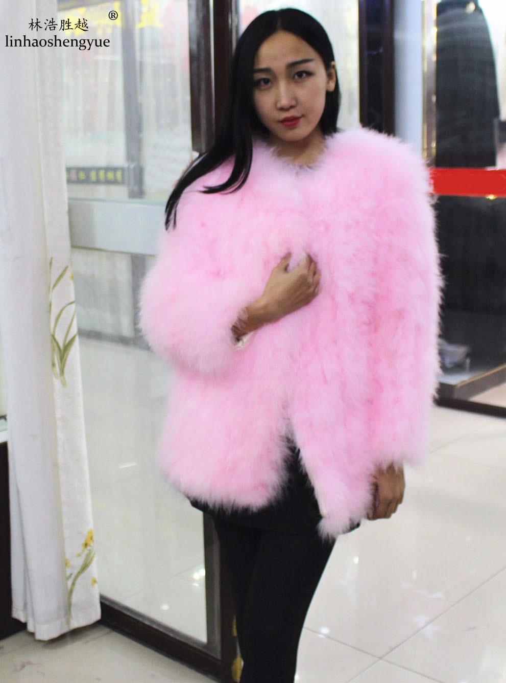 Long 75cm sleeve 60cm 2014 autumn and winter ostrich wool turkey wool fur coat long-sleeve women's rabbit fur fox fur
