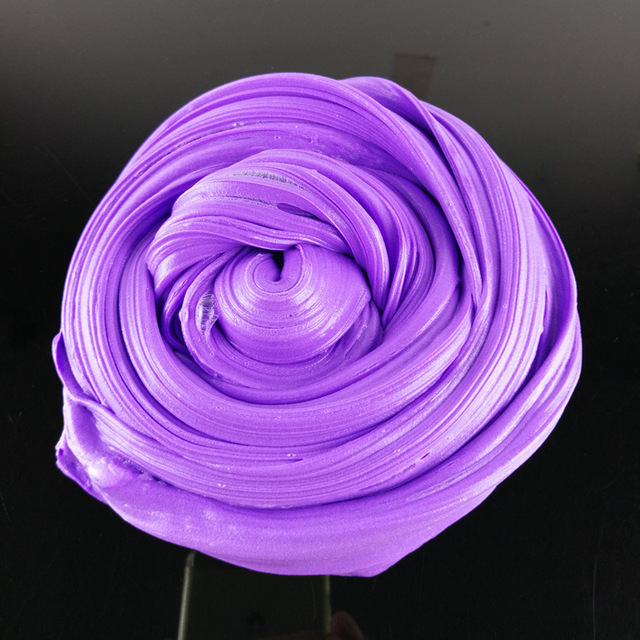 100ml=40g butter slime form crystal soil squishy lab slime toy slime putty clear clay slime Whipped cream rubber mud d0