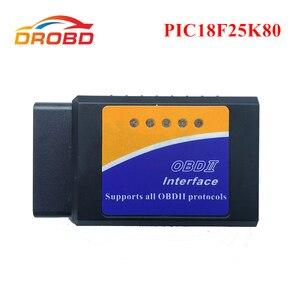 Image 1 - Auto Scanner OBD2 ELM327 V 1,5 PIC18F25K80 Chip Diagnose tool Mini ELM327 V 1,5 Bluetooth 3,0 für Android Code reader
