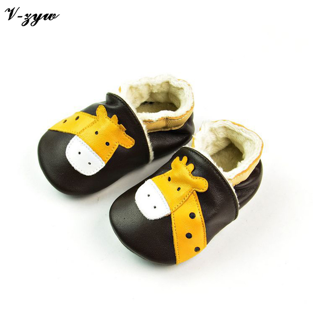Fashion Breathable Baby First Walkers Spring Autumn Shoes Soft Leather Baby Walking Boots Boys Girls Infant Shoes Slippers GZ030