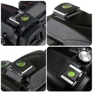 Image 2 - 2 ピース/ロットアンチダストホットシューバブル水準器キヤノンニコンオリンパスカメラ一眼レフ