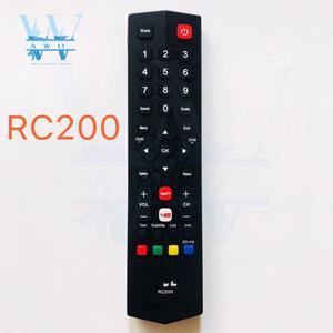 Image 1 - Nouveau 1 pièces RC200 télécommande universelle remplacement pour TCL Smart TV LCD LED sans fil contrôleur à distance de haute qualité