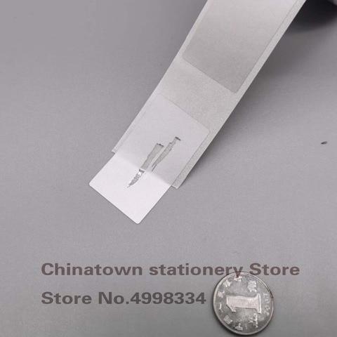 1000 pcs 23x42mm prateado ouro adesivo scratch