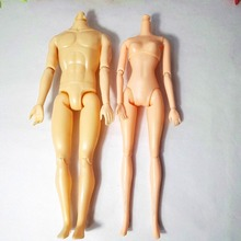 1pcs Naked Body Necessary For DIY ten Joints Doll boy Body and girl 11 joints doll