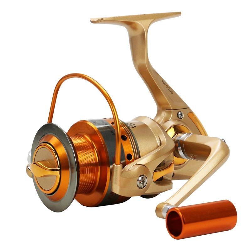 Upgraded metal spinning fishing fishing reel 12bb for Bass fishing gear