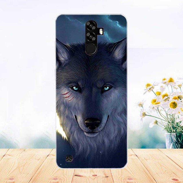 Soft Tpu Phone Case For Homtom S99 Cases Silicone Painted Wolf Rose Cat Eiffel Fundas Sheer For Homtom S99 Back Cover