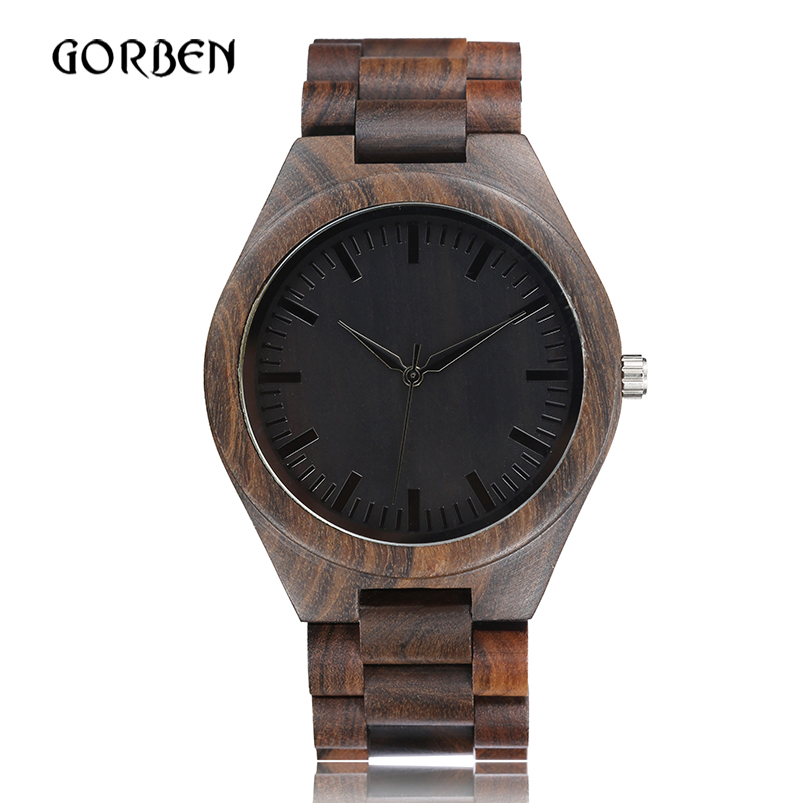 Retro Wood Watch Men Creative Simple Natural Unique Wooden Bamboo Quartz Watches Male Bangle Clock Relogio Masculino reloj 2018 unique handmade natural bamboo wood watch analog mens simple quartz wristwatch male genuine leather relogio masculino esportivo