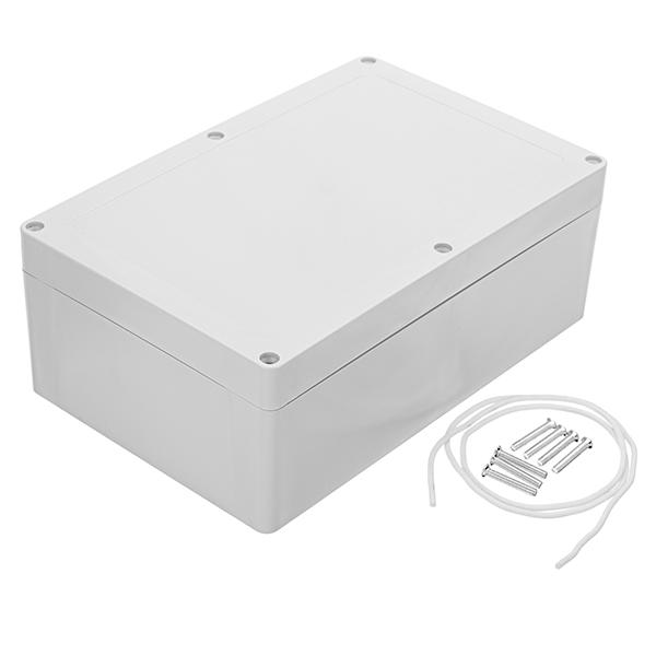 230 x 150 x 85mm DIY Plastic Waterproof Housing Junction Case Power Box Sealed Instrument Case image