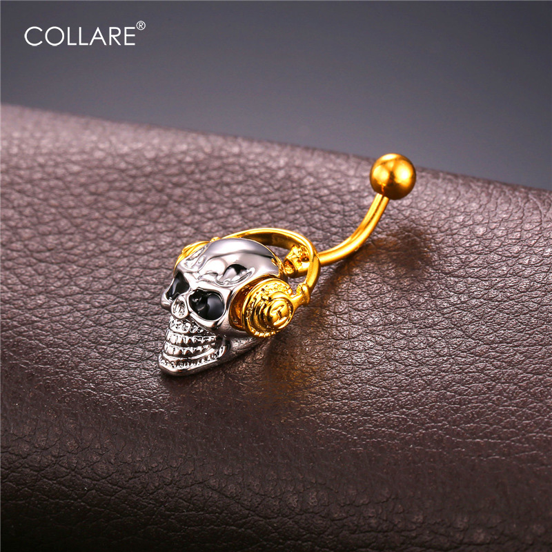 316L dangle navel ring .body belly ring nose Surgical ear stud FREE Post
