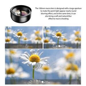 Image 2 - APEXEL 100mm Macro Lens Camera Phone Lens 4K HD Super Macro Lenses CPL Star Filter for iPhonex xs max Samsung s9 all smartphone