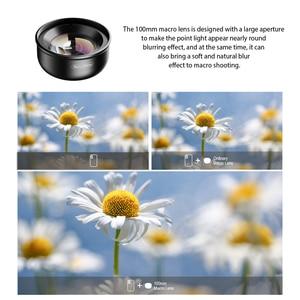 Image 2 - APEXEL 100mm obiektyw makro aparat telefon obiektyw 4 K HD Super makro soczewki CPL filtr gwiazdkowy dla iphone xs max samsung s9 wszystkich smartfonów