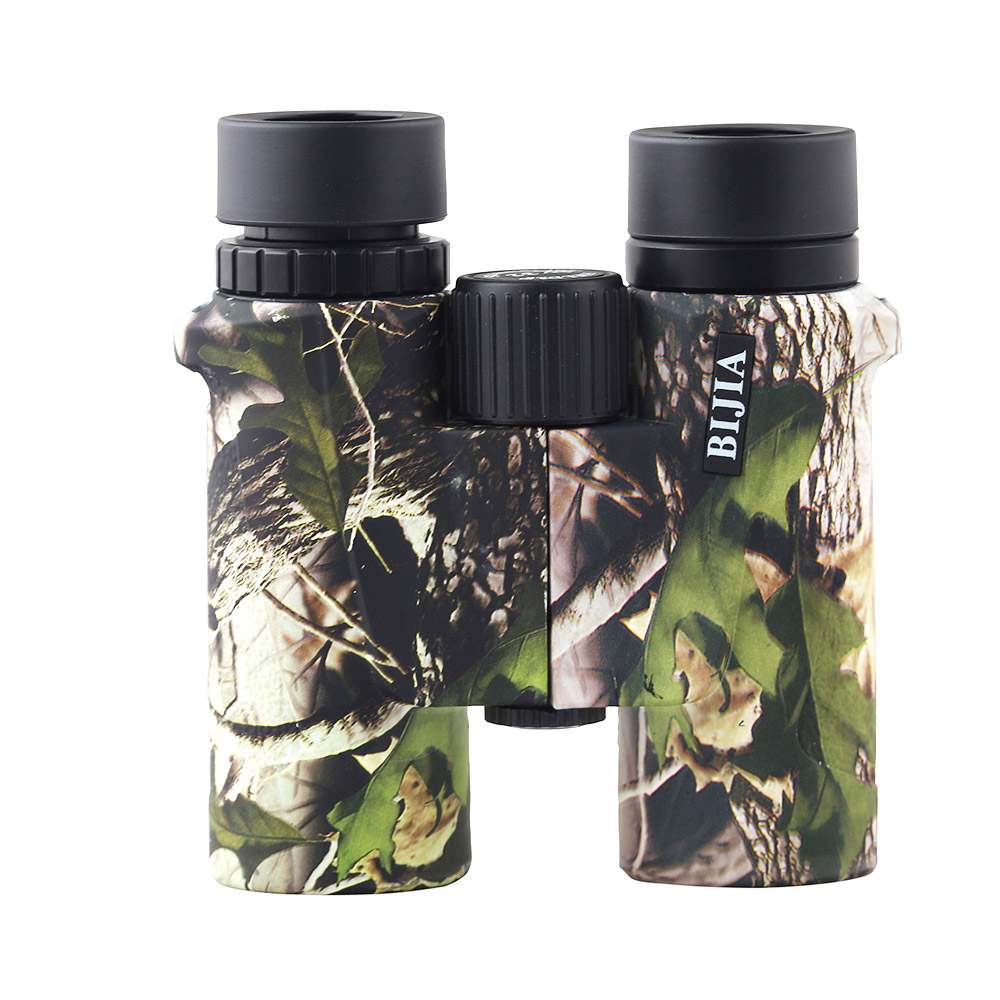 BIJIA <font><b>8x32</b></font> <font><b>Binoculars</b></font> Telescope Professional Hunting High Quality Vision No Infrared Eyepiece Camo image