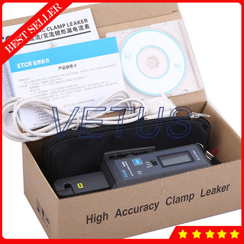 ETCR6000 High Accuracy Digital AC DC Clamp Leaker Meter with 0mA-60.0A Measurement Range Clamp Meter