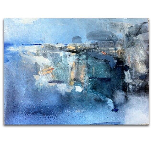 Ventage Estilo Moderno abstracto Arte de La Pared DIY Marco IARTS ...