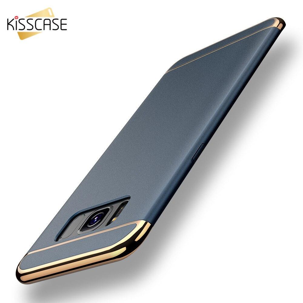 Kisscase чехол для Samsung Galaxy <font><b>J7</b></font> Prime S7 Edge случай 3 в 1 Гибридный позолоченный Панцири Ultra Slim Телефонные Чехлы для xiaomi Redmi 4 Pro