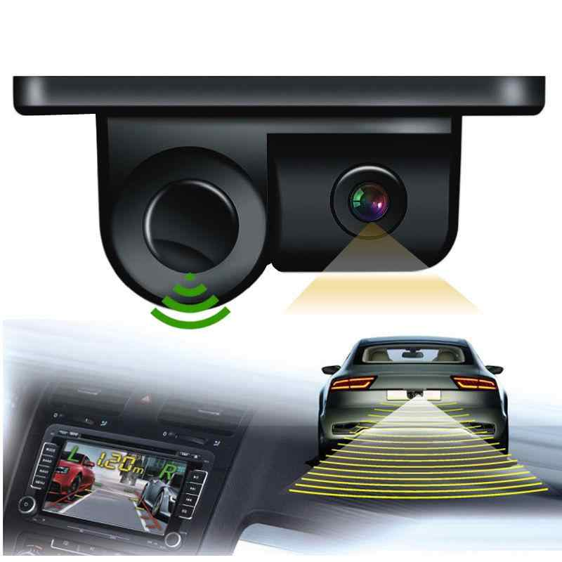 Beesclover 2 In 1 Camera With Parking Sensor Kit Newly Rear View Camera Autos Reversing Rearview Backup Parking Camera R30 Parking Sensors Aliexpress