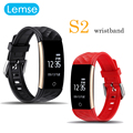 Lemse Band S2 Smart Bracelet Wristband PK Miband 2 Fitness Tracker Android Bracelet Smartband Heart rate Monitor Outdoor Sports
