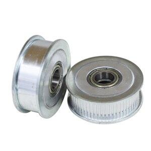 Синхронный шкив колеса с 60 зубцами 2GT, шкив 5/6/8/10/12/15 мм, диаметр отверстия 11 мм, ширина с подшипником для зубчатой ленты GT2