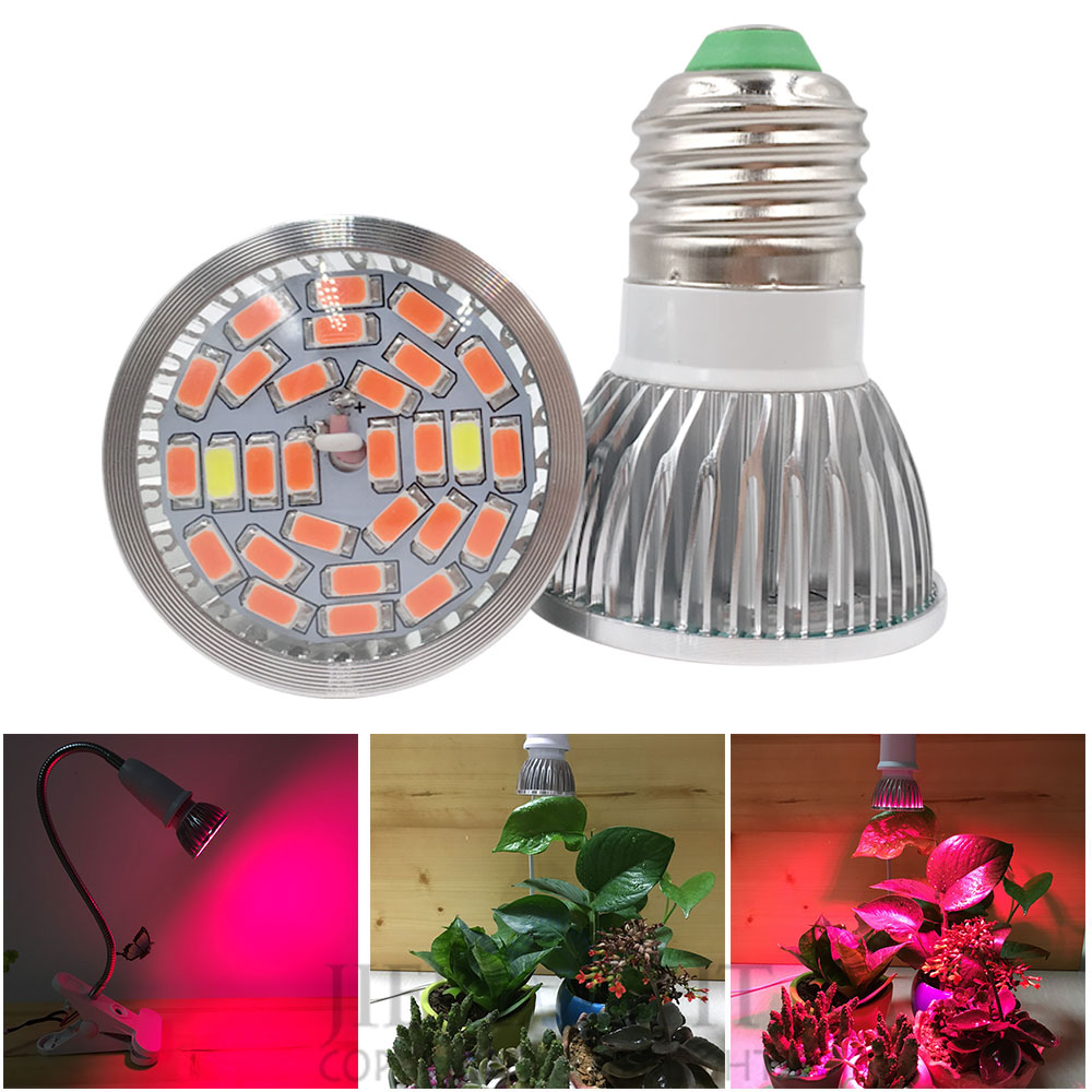 New SMD LED Plant grow bulb lamp grow light Hydroponic ...