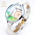 Miss keke Children Girl 3D Clay Mini World Cartoon Watch Kids Quartz Watches Leather Dress Bracelet Wristwatch 871 montre enfant