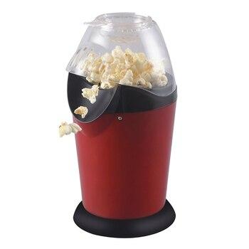 Tragbare Elektrische Popcorn Maker Startseite Runde/Platz Heißer Luft Popcorn, Der Maschine Küche Desktop Mini Diy Mais Maker 1200W