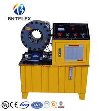 цена на BNT51F 380v 3 phase 3 kw or 4 kw semi automatic 2 pipe press machine with 10 sets of dies
