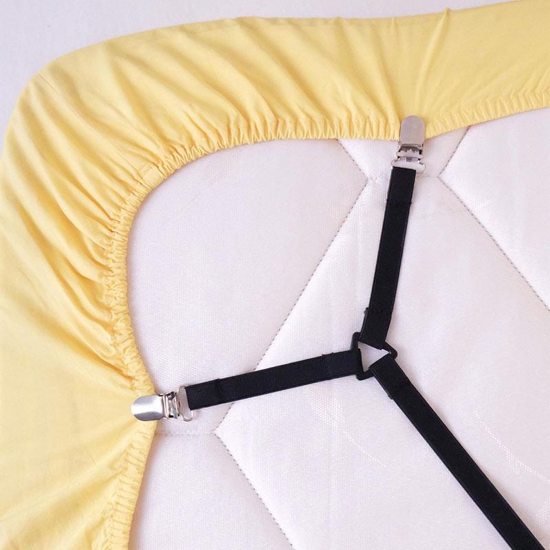 2 Stücke Blatt Bett Verstellbaren Strapsen Kreuzmuster Band Straps ...